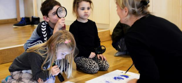 Kreativitarium: Workshop med kunstner 1,5 time