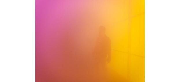 Ann Veronica Janssens: Blue, Red and Yellow, 2001. Foto